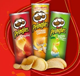$1.47(原价$2.99)凑单佳品!Pringles 薯片 (3种口味)