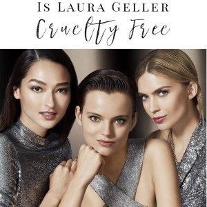 低至7折Laura Geller 专业烘焙彩妆全场折扣促销