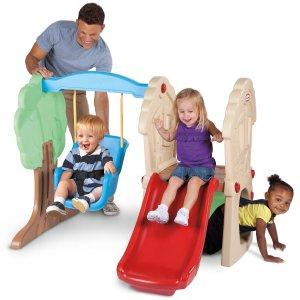 低至5折 封面史低价再刷新折扣升级:Little Tikes 儿童玩具热卖,室内外都能开心玩耍