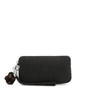 Kipling$15 with purchase of $75+Wristlet - True Black