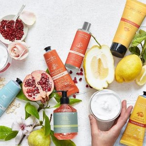 Up to 50% off + Extra 10% offClearance item  @ Crabtree & Evelyn
