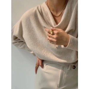 满$199享76折羊绒针织衫