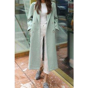 Modern Double Wool Coat for Sale | Coats for Women | KOODING