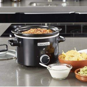 现价 £99.99(原价£299.99)限今天:Crock-Pot 2.4L 黑色 慢煮锅特卖