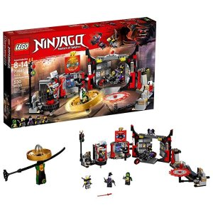 15c84754ba4e1 LegoNINJAGO S.O.G. Headquarters 70640 Building Kit (530 Piece)