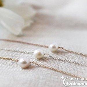 $24.85Dogeared 手工珍珠锁骨链 低价热卖