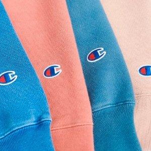 8.5折Champion Premium Reverse系列卫衣等热卖