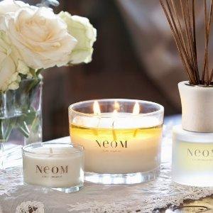 低至4折起 满£40赠香水小样一支治愈系香氛品牌 Neom 促销热卖中