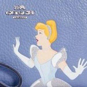 7折+额外9折Coach x Disney 公主联名 灰姑娘、贝拉、蒂安娜都有
