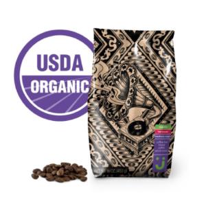Uniquely J 有机咖啡豆 (100% Arabica咖啡豆)