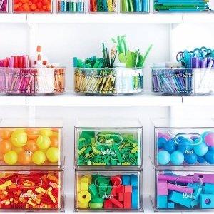 全场85折 $12.74起最后一天:iDesign 冰箱食物 杂物间收纳 告别杂乱 治好你的强迫症