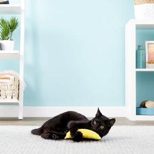 Yeowww!Catnip Yellow Banana Cat Toy - Chewy.com