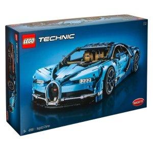 $443(原价$610)LEGO 乐高 42083 机械组系列布加迪Chiron超级跑车