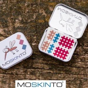 €3.65收24片 孕妇儿童可用Moskinto 德国止痒黑科技 蚊虫叮咬 一贴止痒 成分安全