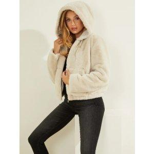 GuessTeddy Reversible Faux-Fur Jacket | GUESS