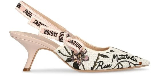 J'Adior Slingback Pump Rosa 新款猫跟鞋