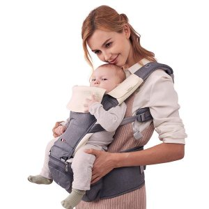 Bebamour Baby Carrier Hip Seat for All Seasons Baby Carrier for Newbor