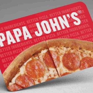 7折优惠Papa John's 披萨、鸡翅等好价吃到饱