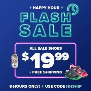 $19.99无门槛包邮 原价高达$75闪购:pediped OUTLET童鞋8小时热卖
