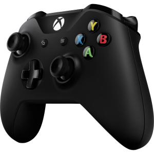$63 (原价$89.95)Microsoft Xbox One S 无线手柄 黑色