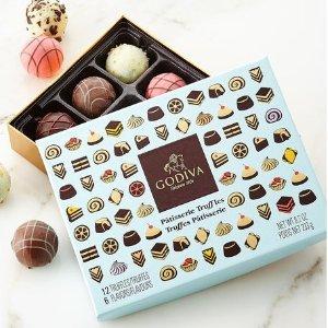 额外七折 丝滑享受Godiva 礼盒巧克力大促