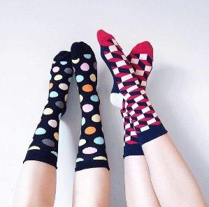 6折!收舒适美袜!Happy Socks 现有精选男士女士袜子内衣热卖