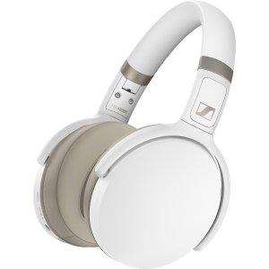 SennheiserWhiteHD 450BT Over-ear Wireless Noise Canceling Headphones