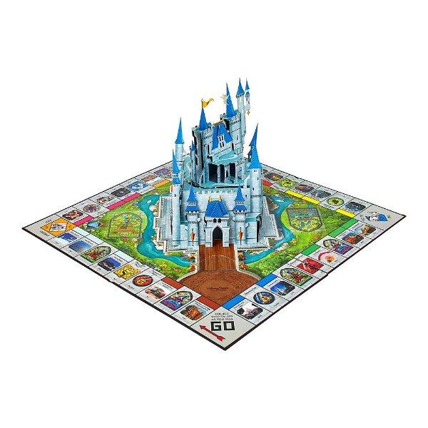 限量版 迪士尼主题公园立体造型大富翁玩具
