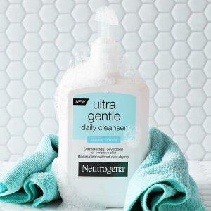 $5.57 (原价$9.3)Neutrogena 露得清 温和日用洁面乳 354ML