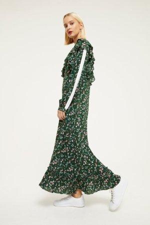 Ghospell 绿色长裙