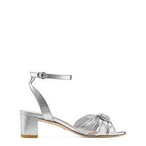 Stuart Weitzman银色凉鞋