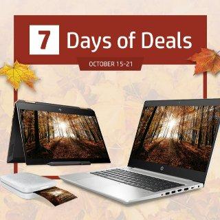 Spectre笔记本省$370 送3年延保惠普 7日电脑惊喜优惠 每天来点不一样的