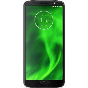 $109.99 送3月12GB预付费SIM卡Moto G6 32GB 4G全网通 解锁版智能手机