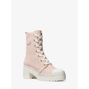 Michael Kors帆布短靴