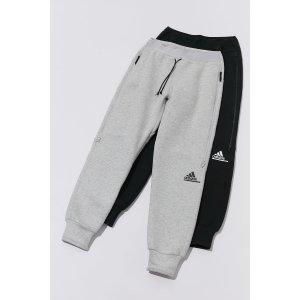 Adidas两色可选 封面款!logo 休闲裤