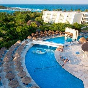 $599起  小型套房 一价全包4或6晚坎昆机票+酒店套餐 入住 Grand Sirenis 5星级度假酒店