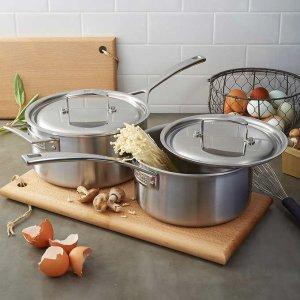 低至3.4折Zwilling 双立人 Aurora 高端不锈钢锅具热卖