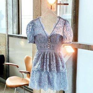 4折起+额外9折!£120收蕾丝衬衫Self-Portrait 仙女裙大促 收春夏绝美小裙子