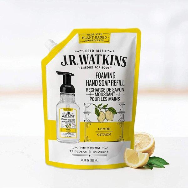 柠檬香型洗手液替换装 828ml