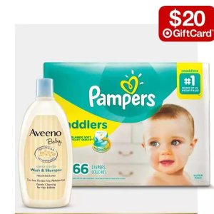 Free $20 Gift CardWhen You Spen $100 on Baby Essentials @ Target.com