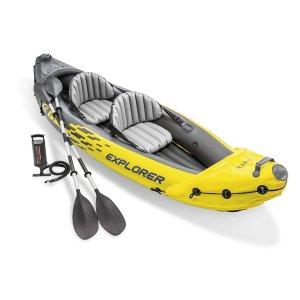 白菜价:Intex 易收纳 充气式皮划艇,游湖必备