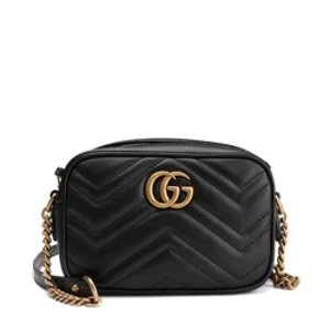 GucciGG Marmont Camera Mini Quilted Leather Shoulder Bag