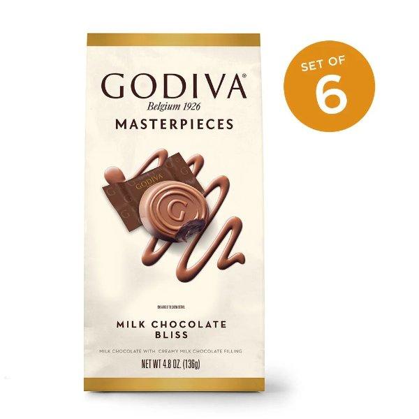 圆形牛奶巧克力  17颗 6袋