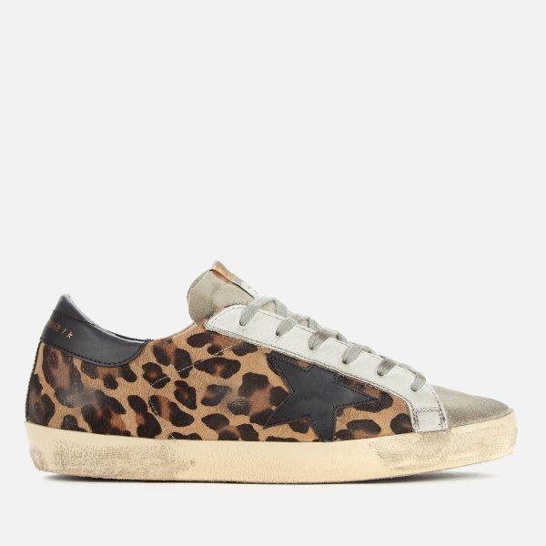 豹纹小脏鞋