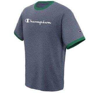 $13.31(原价$20)Champion 经典Logo款男子短袖T恤 多色可选