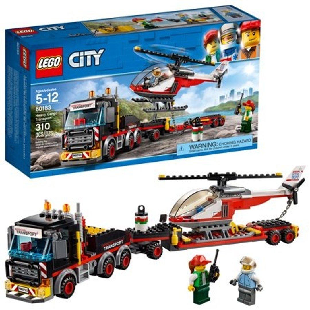 城市组系列 重型直升机运输车60183