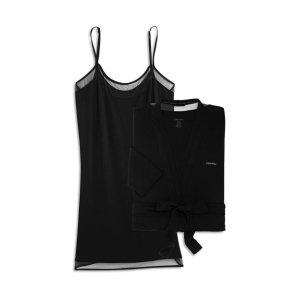 $25 立减$111 凑单好物Calvin Klein 女士睡衣睡袍两件套