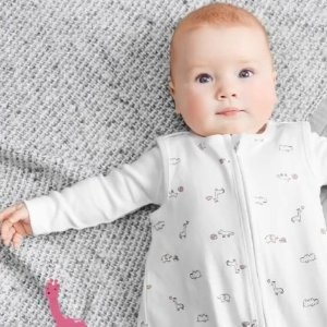 包邮 厚实保暖睡袋$7.79即将截止:Carter's官网 婴儿睡袋热卖