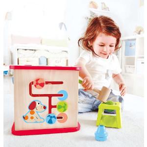 $43(原价$73.96)Hape Toys 儿童活动立方体益智积木屋好价收,百变好玩