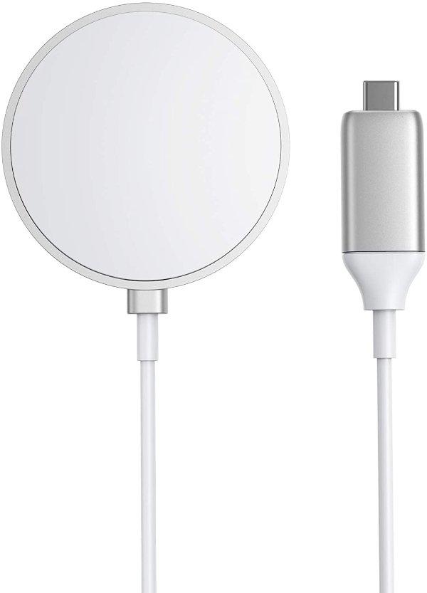 磁力无线充电板 内置5ft长USB-C线材